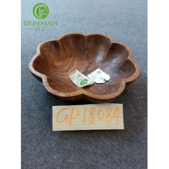 wood bowl wooden plate wooden tray for any size foe food home decoration - Medium Wood Home Decoration