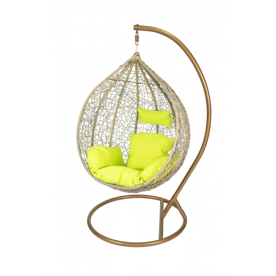 Cheap Rattan Outdoor Hanging Swing Chair Cocoon Patio Swing Chair